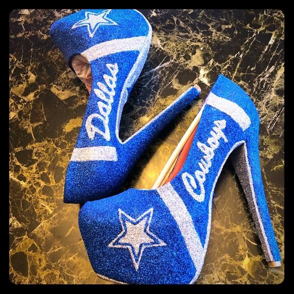 59c36a464bb Custom Dallas Cowboys Heels